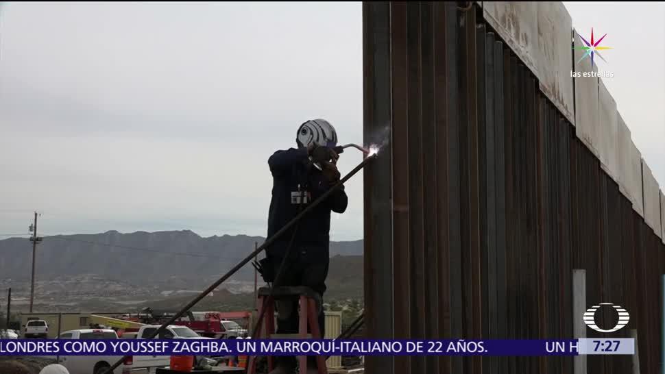 Donald Trump, construcción del muro, muro en la frontera, migrantes