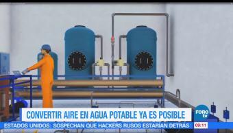 Ximena Cervantes, reportaje, convertir aire, agua potable