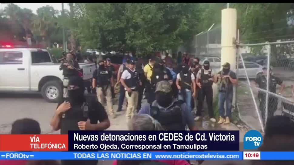 federales, control del penal, penal de Ciudad Victoria, Tamaulipas