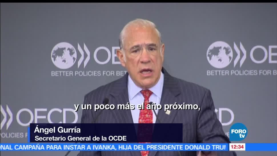 José Ángel Gurría, secretario general, OCDE, crecimiento económico