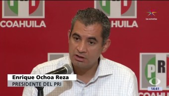 noticias, televisa, Ochoa Reza, PRI, respeta, instituciones electorales