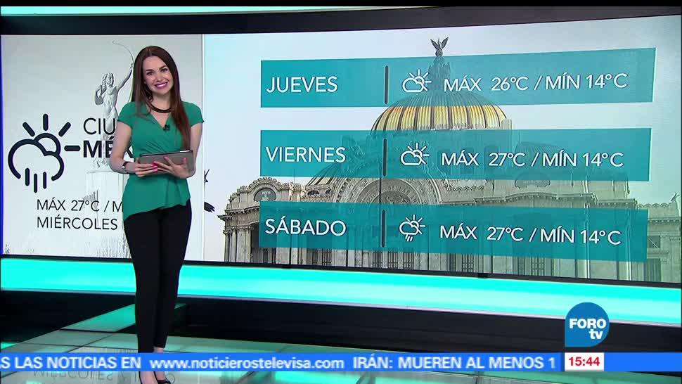 noticias, forotv, El Clima, Mayte Carranco, Clima, tormentas intensas