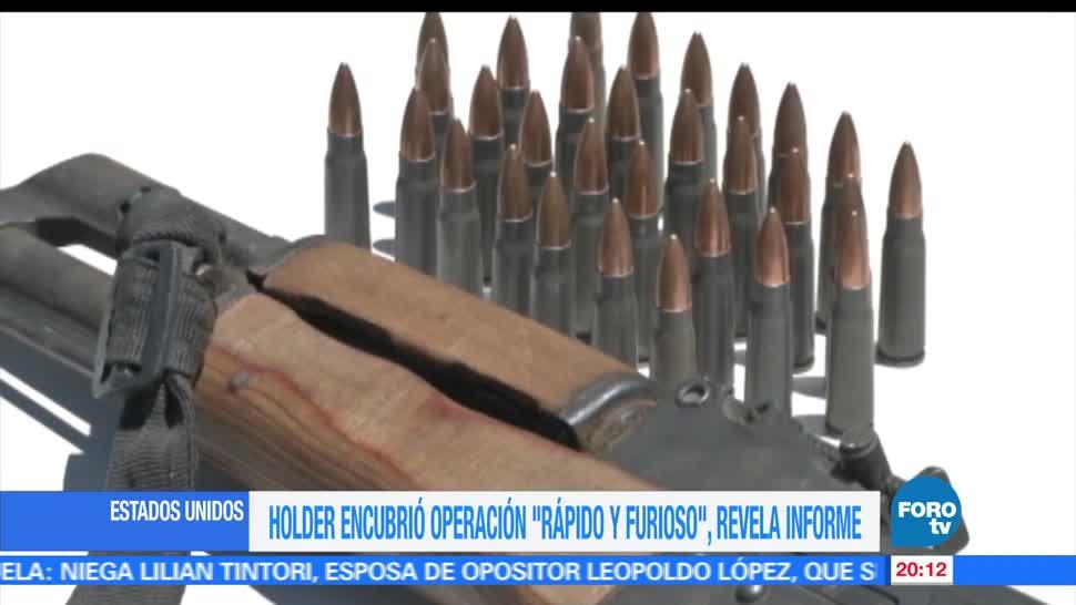 Ercik Holder, exfisacl, Estados Unidos, encubrió, operación, Rápido y Furioso