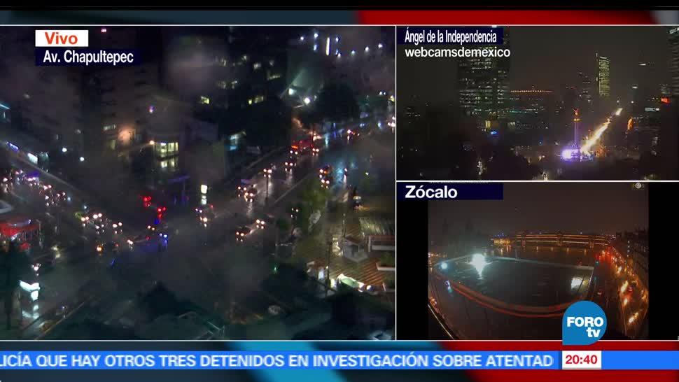 Fuerte lluvia, causa, encharcamientos, CDMX, inundaciones, ciudad méxico