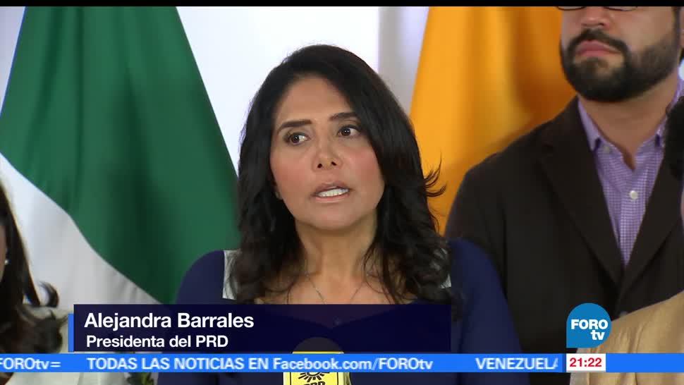 PRD, hace, llamado, Morena, rumbo, elección del 2018