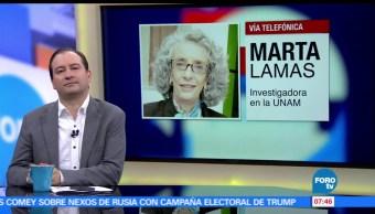 Marta Lamas, investigadora, UNAM, Asociación de Mujeres Meretrices