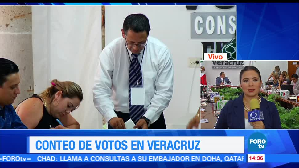 noticias, forotv, Avanza, conteo, actas electorales, Veracruz