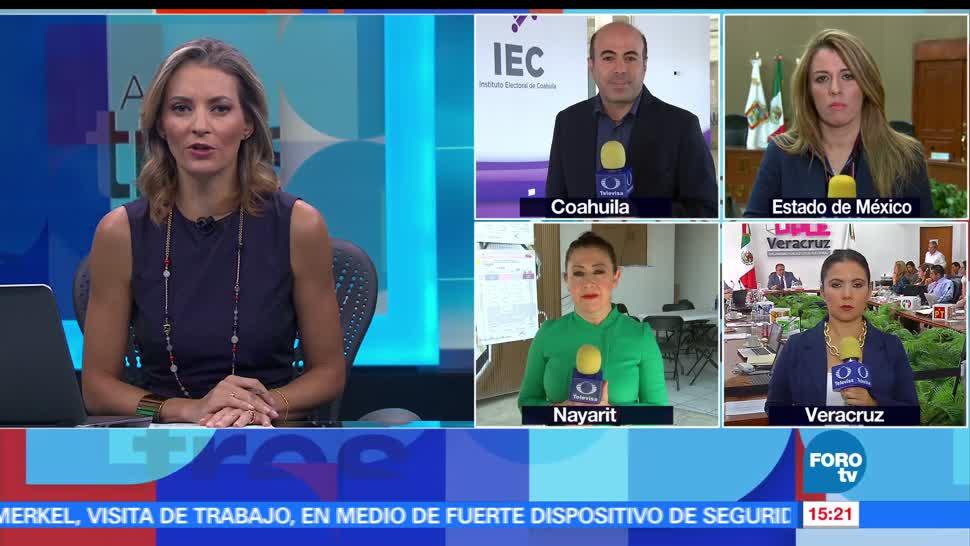 noticias, televisa, fluye, información, cómputos, jornada electoral