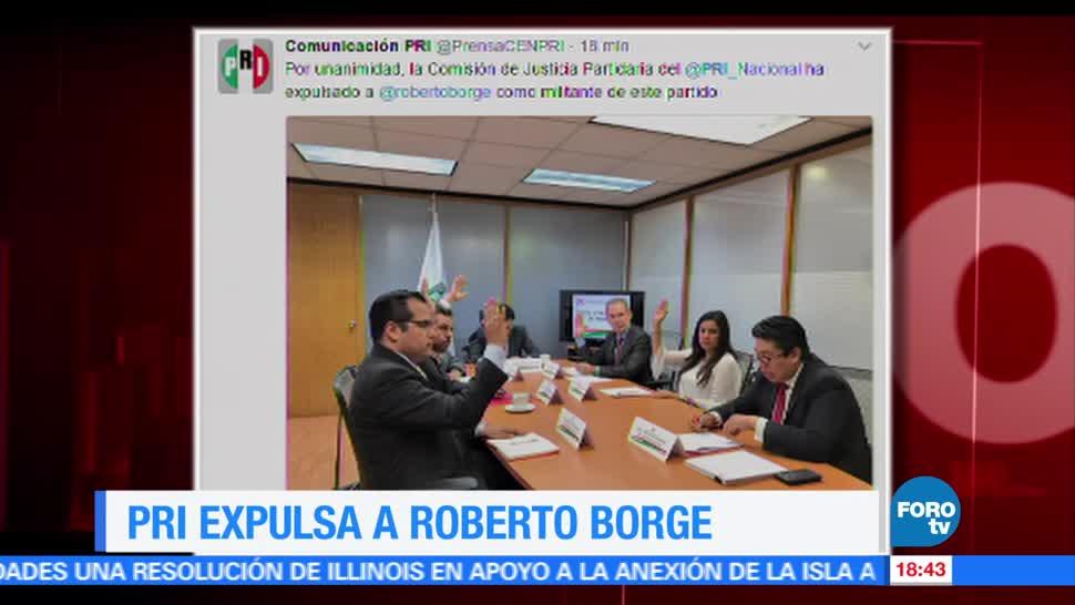 PRI, anuncia, expulsión, Roberto Borge, corrupción, exgobernadores