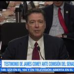 Testimonio, James Comey, caso Rusia, Trump, injerencia, elecciones EU
