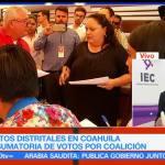 Continúan, cómputos, distritales, Coahuila, conteo, votos