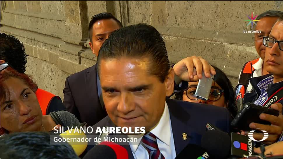 Silvano, Aureoles, levanta, la mano, 2018, elecciones