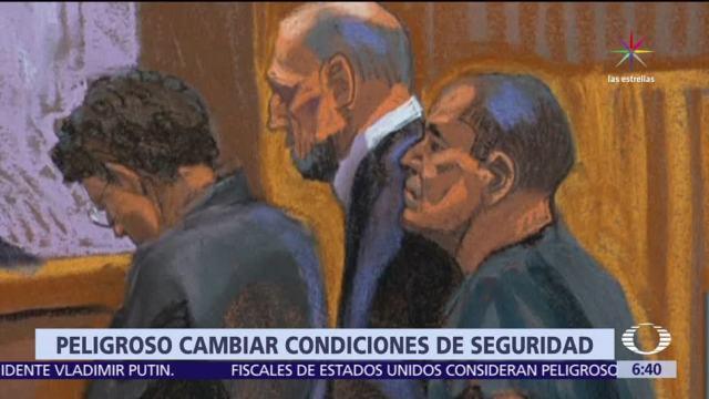 Justicia, mantendrá, cristales, El Chapo