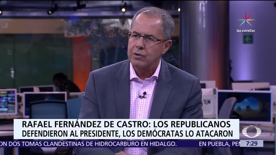 análisis en Despierta, Rafael Fernández de Castro, testimonio, Comey