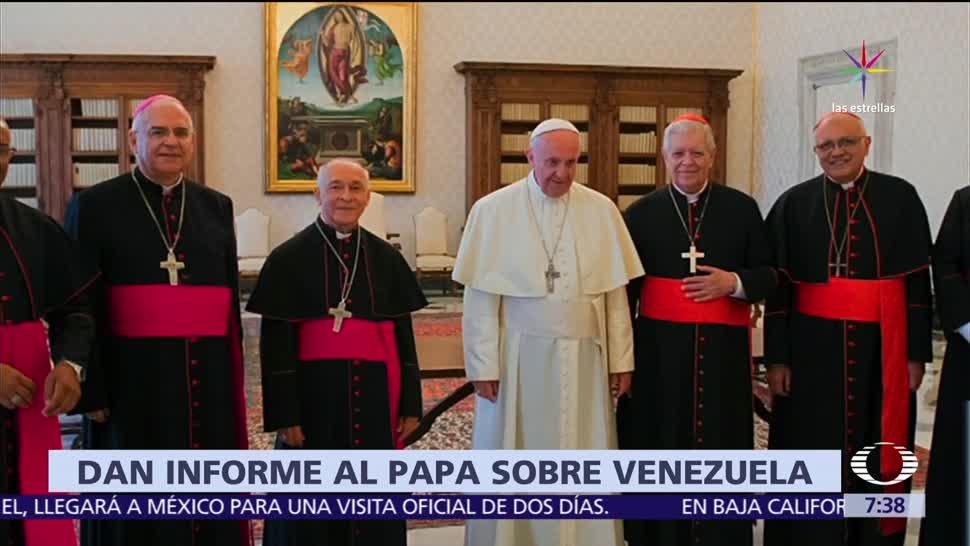 papa Francisco, recibe, obispos, Venezuela, Vaticano