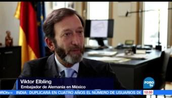 Refuerzan, México, Alemania, relaciones estratégicas