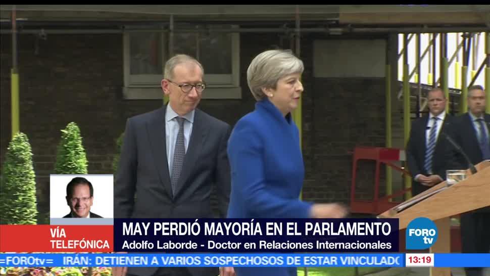 noticias, forotv, Se complica, panorama, Theresa May, Adolfo Laborde
