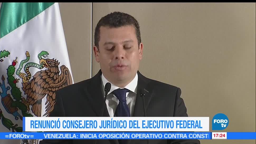 noticias, forotv, Humberto Castillejos, renuncia, como, Consejero Jurídico
