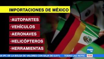 noticias, forotv, Comercio, México, Alemania, intercambio comercial
