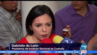 No, hubo, fraude, electoral, Coahuila, IEC