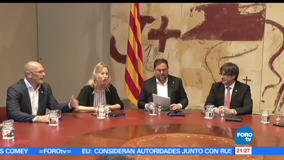 Cataluña, anuncia, fecha, referéndum, independentista, España