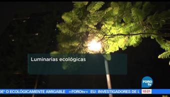 Luminarias, Ecológicas, energía, corriente alterna