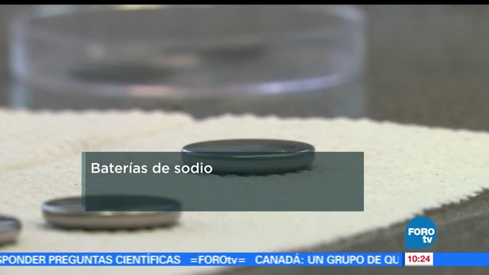 Baterías, sodio, México, cloruro