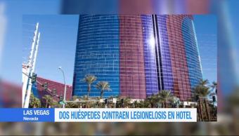 Huéspedes, contraen, Legionelosis, hotel rio, Las Vegas, enfermades hoteles