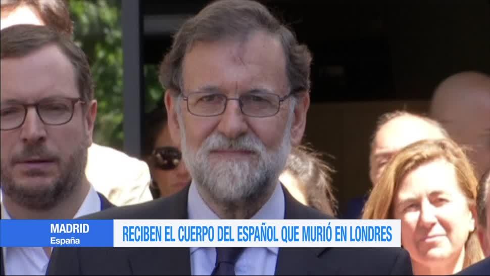 Reciben, Madrid, Mariano Rajoy, cuerpo español, murió, ataque Londres