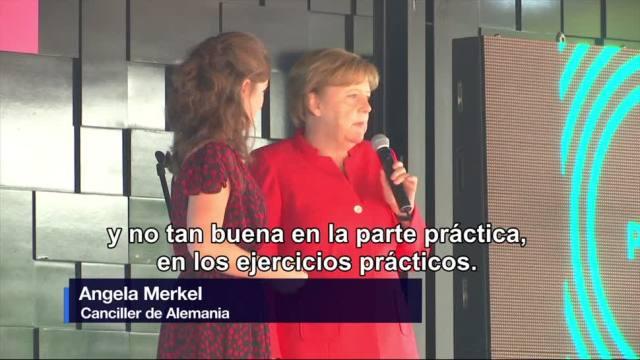 Angela Merkel, visita, exposición, Monumento, Revolución, cdmx