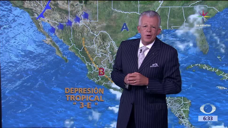 vientos fuertes, depresión tropical, Despierta con Tiempo, 60 kilómetros
