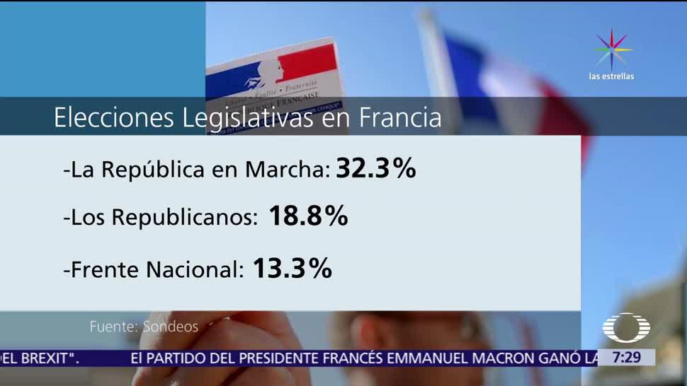 Emmanuel Macron, primera vuelta, elecciones legislativas, Francia, Asamblea