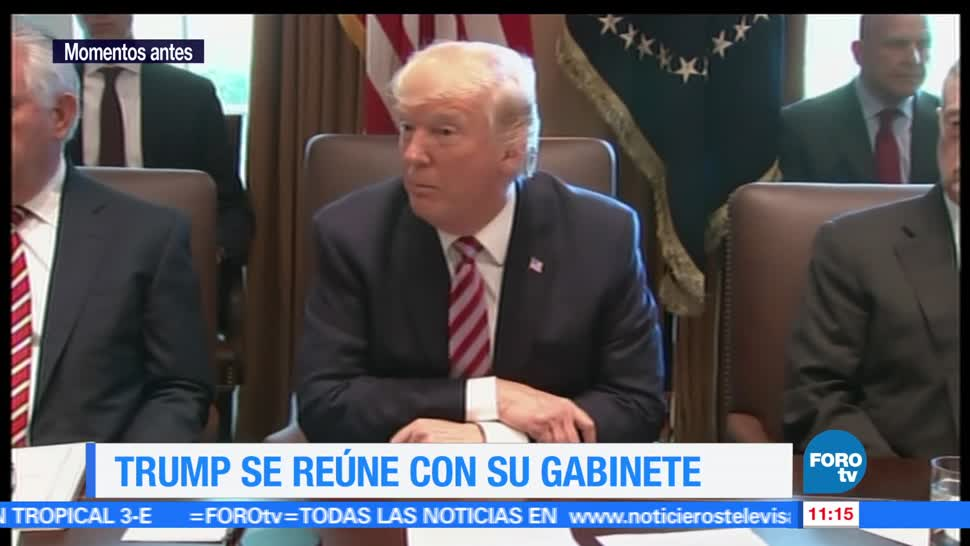 Donald Trump, gabinete, Casa Blanca, Rusiagate