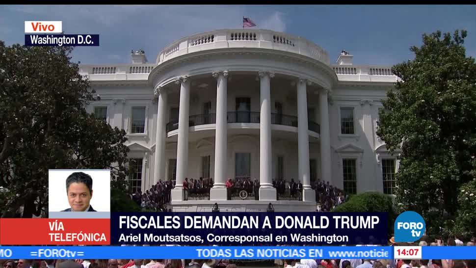 Ariel Moutsatsos, corresponsal en Washington, Donald Trump, gabinete