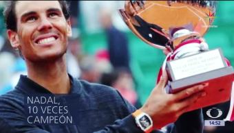 Rafael Nadal, gana, décimo, Roland Garros