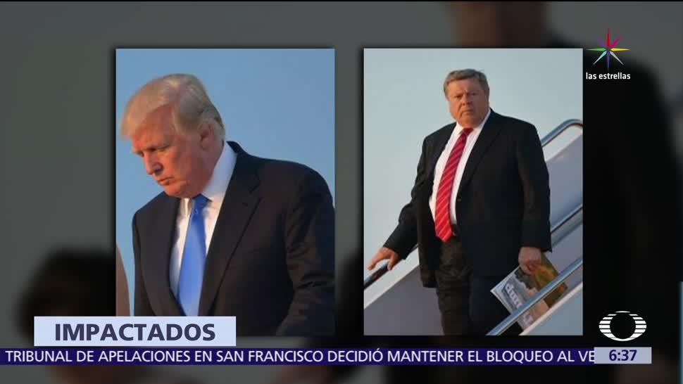 presidente de Estados Unidos, Donald Trump, Victor Knavs, redes sociales