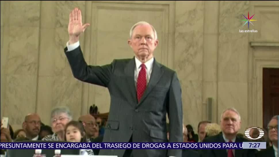 Jeff Sessions, fiscal de Estados Unidos, Rusiagate, Comité de Inteligencia, Senado