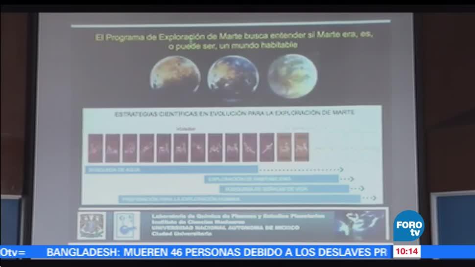 Rafael Navarro, NASA, segunda misión, UNAM, Marte