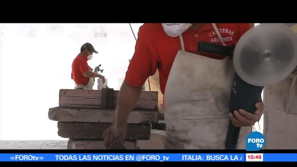 Antonio Mora, esculpir, cantera, municipio de Aculco, Estado de México