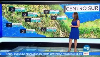 Ciudad de México, temperatura, probabilidad, lluvia