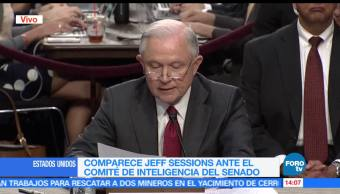 Comparece, Jeff Sessions, Senado, comité de inteligencia