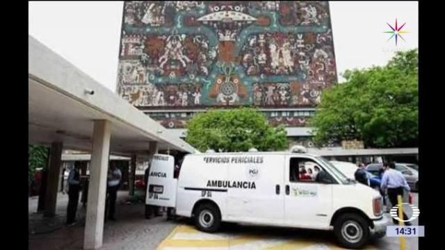 Muere, estudiante, Odontologia, UNAM