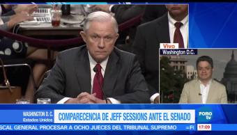 Jeff Sessions, FOROtv, Ariel Moutsatsos, Trump