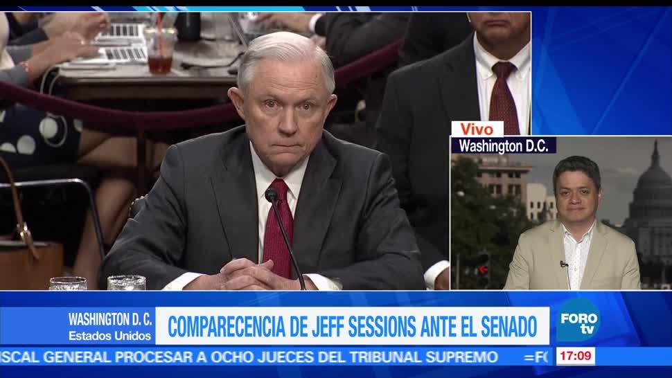 Jeff Sessions, FOROtv, Ariel Moutsatsos, Trump