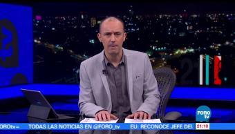noticias, forotv, Hora 21, Programa, 13 de junio de 2017, Julio Patán