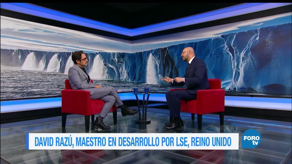 noticias, forotv, Genaro Lozano, entrevista, David Razú, cambio climático