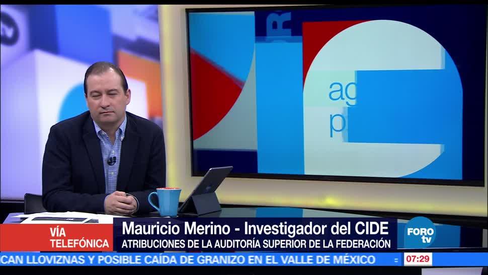 Mauricio Merino, atribuciones de la Auditoría Superior, combate, corrupción