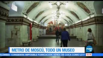 Sofía Escobosa, Metro, reportaje, Moscú
