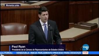 Cámara de Representantes, Paul Ryan, tiroteo en Virginia, congresistas