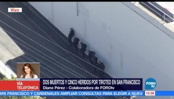 Diane Pérez, muertos, tiroteo, San Francisco, California